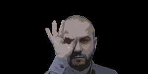 Grafica e web Una foto effetto locandina del grafico Davide Bardini
