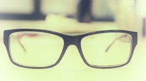 un paio d'occhiali
