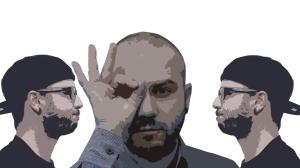 7emezzastudio grafica e web. Immagine a destra e a sinistra uguale di Davide Bardini e al centro