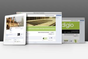 Occupandoci di social marketing curiamo le tue pagine facebook. Quialcune immaini di pagine aziendali facebook che abbiamo creatoe che gestiamo
