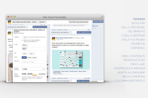 7emezzastudio si è occupata del sito internet aziendale e di social marketing. Qui una visualizzazione di una promozione su facebook
