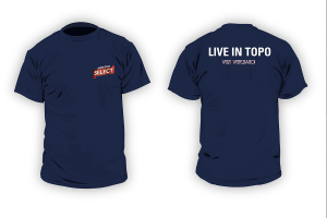 "Magliette per l'evento ""Live in Topo"" di Select"