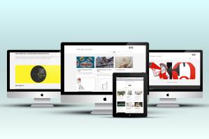 Abbiamo realizzato il sito web per Chiara Alessi. Qui visualizzazione interamente responsive su vari dispositivi