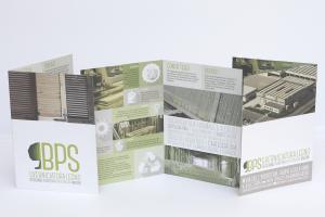 Brochure BPS, e logo aziendale