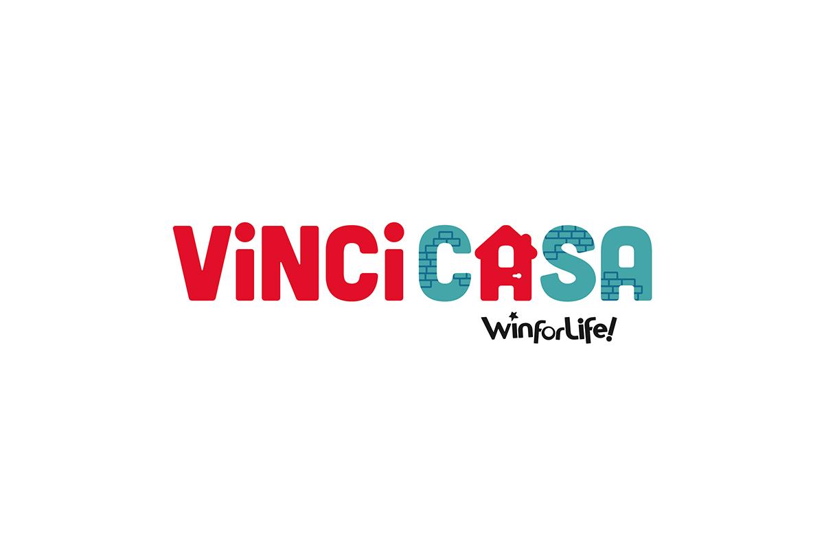 creazione locandina per l'vento di vincicasa. Qui il logo vincicasa