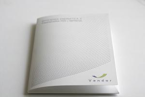 Nella realizzazione dei materiali grafici per Vendor spicca qui un'immagine del folder