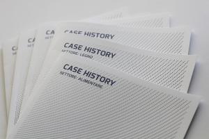 Tra tutti i materiali grafici fatti per vendor qui rappresentata la Case history