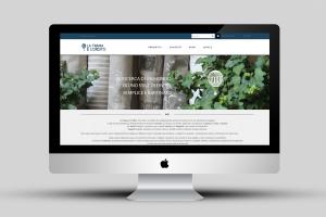Una visualizzazione del sito internet, home page, di tramaeorditotessuti.com