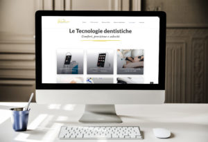 Benacus Dental Clinique - grafica aziendale siti internet