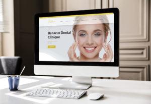 Benacus Dental Clinique - grafica aziendale siti internet